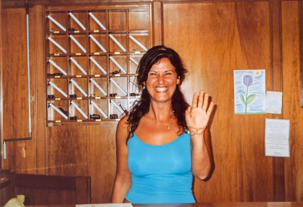 Anthea Pouli 2003 - Bella Vista hotel Benitses Corfu