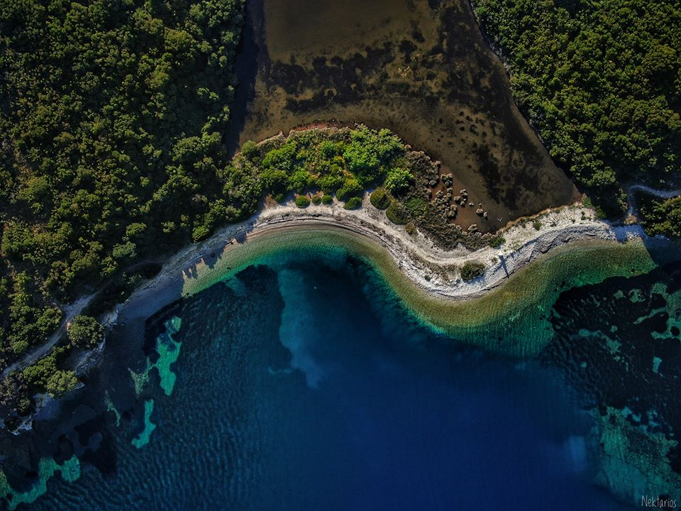 Erimitis part of Natura for Kassiopi project development in Corfu island Greece